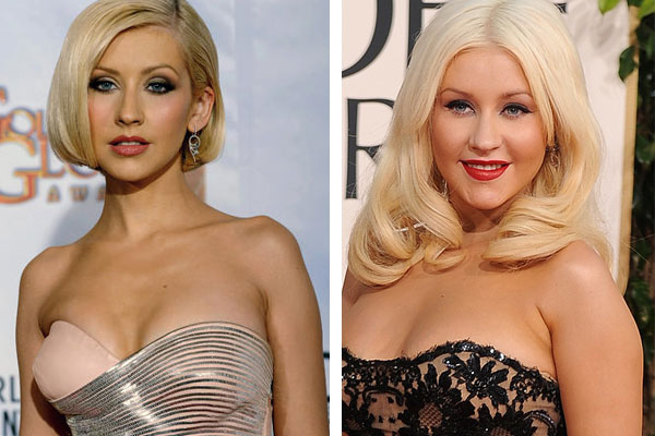 christina aguilera 2011 weight gain. Christina Aguilera has always