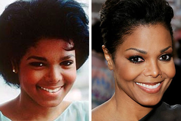 janet jackson before and after