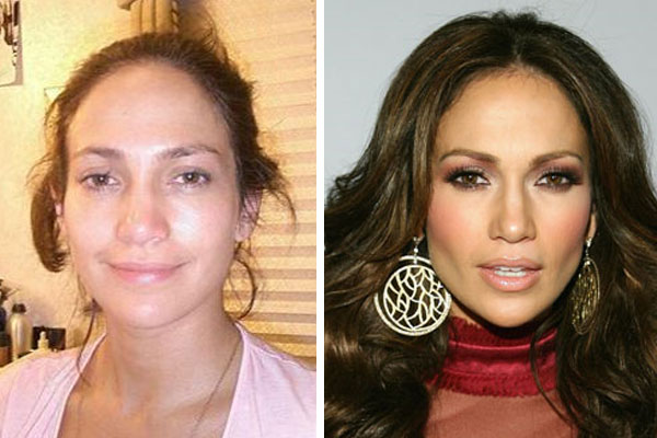 jlo without makeup