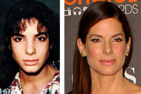 sandra bullock before and after