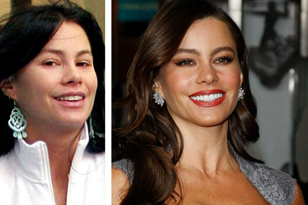 Sofia Vergara Caught Without Makeup On!