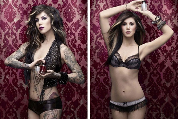 Kat Von D looks Great…With Help from Photoshop!