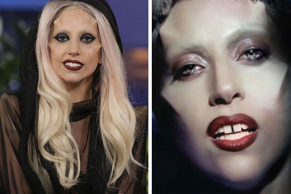 pictures of lady gaga before plastic surgery. OH Reeealy Lady Gaga,