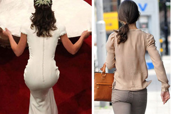 Pippa Middleton's Butt Hysteria