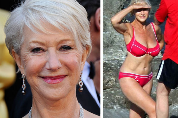 "Helen Mirren Speaks up about ""Horrific"" Plastic Surgery"