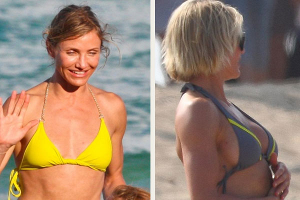 Cameron Diaz Hot New Boob Job Before and After Pics