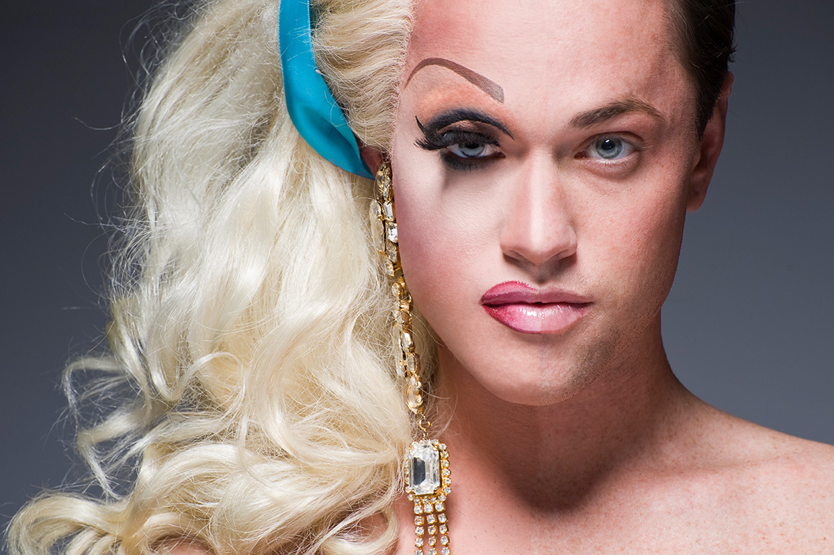 Shocking Queens of Drag Before and After Makeup Portraits