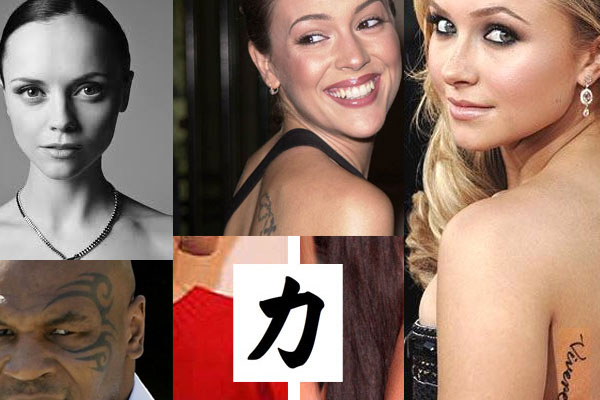Celebrity Tattoo Meanings