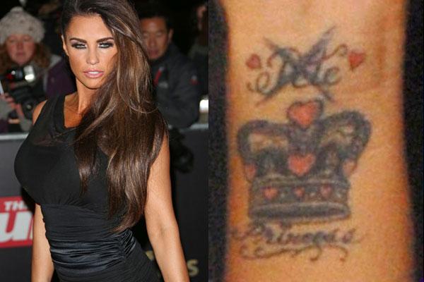 katie price tattoo